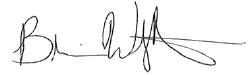 brian wright signature